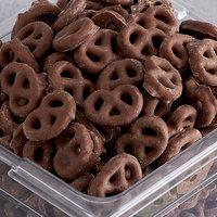 Micro Mini Cocoa Pretzels Topping - 10 lb.