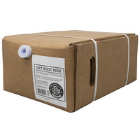 Boylan Bottling Co. 5 Gallon Bag in Box Diet Root Beer Beverage / Soda Syrup