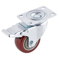 VacPak-It P20F31 2 1/2 inch Plate Caster with Brake for VMC20F and VMC20FGF
