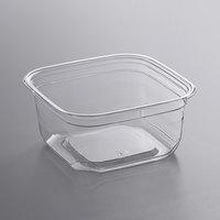 Fabri-Kal SQ12 TruWare 12 oz. Square Recycled PET Deli Container - 600/Case