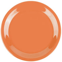 GET NP-6-PK Pumpkin Diamond Harvest 6 1/2 inch Rolled Edge Plate - 48/Case