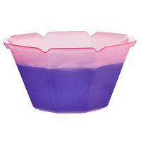 5 oz. Pink to Purple Coloring Changing Dessert Cup - 500/Case