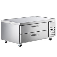 Beverage-Air WTRCS52HC 52 inch 2 Drawer Refrigerated Chef Base