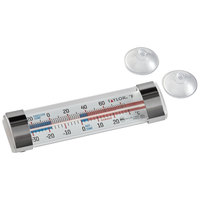 Taylor 5925NFS Classic 4 3/4 inch Tube Refrigerator / Freezer Thermometer