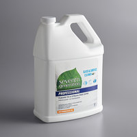 Seventh Generation 44721 Professional Free & Clear 1 Gallon Glass and Surface Cleaner - 2/Case
