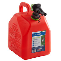 Scepter FR1G501 5 Gallon SmartControl Gasoline Can - Red