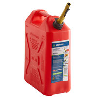 Scepter FG4RVG5 5 Gallon Military-Style Jerry Can - Red