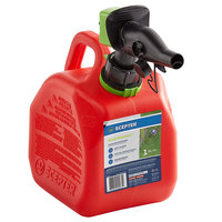 Scepter FR1G101 1 Gallon SmartControl Gasoline Can - Red