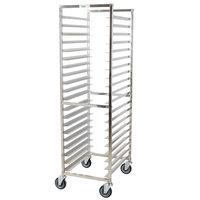 Regency 20 Pan End Load Stainless Steel Bun / Sheet Pan Rack - Unassembled