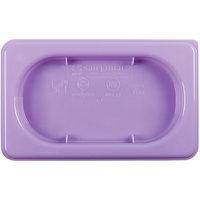 San Jamar MPL19PR ModPan 1/9 Size Purple Allergen Food Pan Lid
