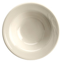 Homer Laughlin 6001000 Lyrica 2.25 oz. Ivory (American White) China Fruit / Monkey Dish   - 36/Case