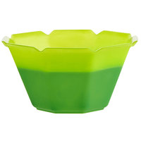 3 oz. Neon Green to Green Color-Changing Dessert Cup - 50/Pack