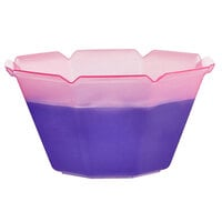 5 oz. Pink to Purple Coloring Changing Dessert Cup - 50/Pack