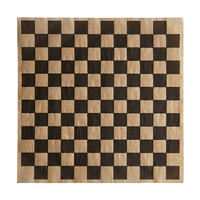Choice 12 inch x 12 inch Kraft Black Check Deli Sandwich Wrap Paper - 1000/Pack