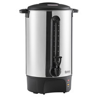 Galaxy 102 Cup (510 oz.) Stainless Steel Single Wall Coffee Urn - 120V, 1500W