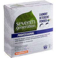Seventh Generation 44734 Professional Free & Clear 112 oz. Laundry Detergent Powder   - 4/Case