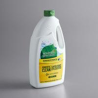 Seventh Generation 22171 42 oz. Lemon Dishwasher Detergent Gel - 6/Case