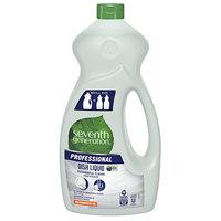 Seventh Generation 44719 Professional Free & Clear 50 oz. Liquid Dish Soap   - 6/Case