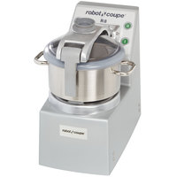 Robot Coupe R8 Ultra Vertical Food Processor with 8 Qt. and 4 Qt. Stainless Steel Bowls - 3 hp