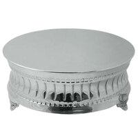 Tabletop Classics AC-9124 22 inch Nickel Plated Round Cake Stand