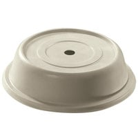 Cambro 100VS101 Versa Antique Parchment Camcover 10 inch Round Plate Cover - 12/Case