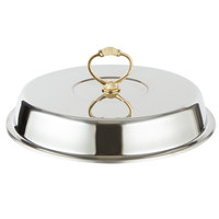 Vollrath 46033-2 5.8 Qt. Classic Brass Chafer Cover