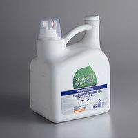 Seventh Generation 44732 Professional Free & Clear 150 oz. Liquid Laundry Detergent - 4/Case