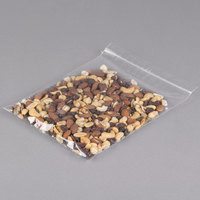 Plastic Food Bag 8 inch x 10 inch Seal Top with Hang Hole - 1000/Box