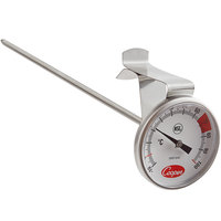 Cooper-Atkins 2237-04C-8 7 inch Hot Beverage and Frothing Thermometer, -10-100 Degrees Celsius