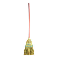 Rubbermaid FG638300BLUE 12 inch Heavy-Duty Warehouse Corn Broom with 58 inch Handle