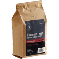 Crown Beverages 2 lb. Emperor's Finest Decaf Coarse Ground Coffee - 5/Case
