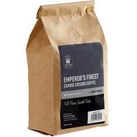 Crown Beverages 2 lb. Emperor's Finest Coarse Ground Coffee - 5/Case