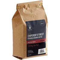 Crown Beverages 2 lb. Emperor's Finest Decaf Coarse Ground Coffee
