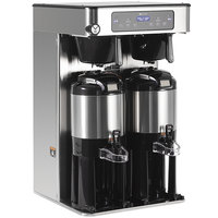 Bunn 53200.0101 ICB Twin Tall Infusion Series Stainless Steel Automatic Coffee Brewer - 120/240V, 6000W