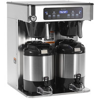 Bunn 53200.0100 ICB Twin Infusion Series Stainless Steel Automatic Coffee Brewer - 120/240V, 6000W
