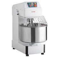 Estella SM50 50 qt. / 75 lb. Two-Speed Spiral Dough Mixer - 240V, 4 HP