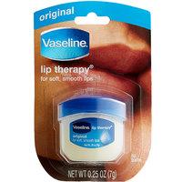Unilever Vaseline 20677 0.25 oz. Lip Therapy Original Lip Balm Jar