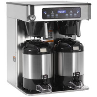 Bunn 53200.0102 ICB Twin Infusion Series Stainless Steel Automatic Coffee Brewer - 120/208V, 6000W