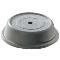 Cambro 1014VS191 Versa 10 7/8 inch Granite Gray Camcover Round Plate Cover - 12 / Case