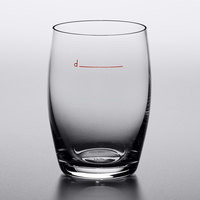 Stolzle 3480043T Declared 5.75 oz. Stemless White Wine Glass with Pour Line - 24/Case