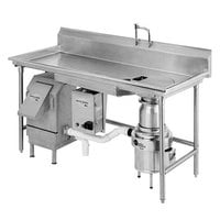 InSinkErator WX-500-6-WX-101 WasteXpress 700 lb. Food Waste Reduction System with #6 Mounting Collar - 208-230/460V
