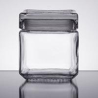 Anchor Hocking 85587R 1 Qt. Stackable Square Jar