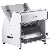 Estella Countertop Electric Bread Slicer - 3/4 inch Cutting Width - 110V, 1/4 hp