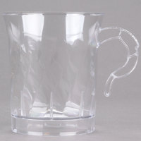 WNA Comet CWM8192C Classicware 8 oz. Clear Plastic Coffee Cup - 192 / Case