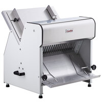 Estella Countertop Electric Bread Slicer - 1/2 inch Cutting Width - 110V, 1/4 hp