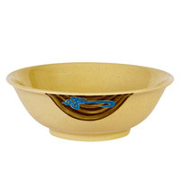 Wei 52 oz. Round Melamine Rimless Bowl - 12/Case