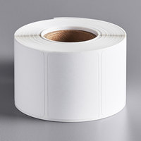 Tor Rey Z-12900024-KITUSA750 White Blank Equivalent Permanent Direct Thermal Label - 750/Roll