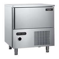 Eurodib BCB05US 38 inch Stainless Steel Blast Chiller / Freezer