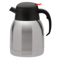 Oneida J0010511A Noblesse 68 oz. 18/10 Stainless Steel Insulated Thermal Server with Push Button