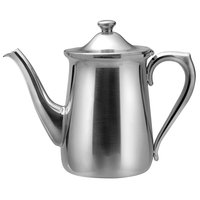 Oneida 30500280A Post Road 64 oz. 18/10 Stainless Steel Coffee Pot